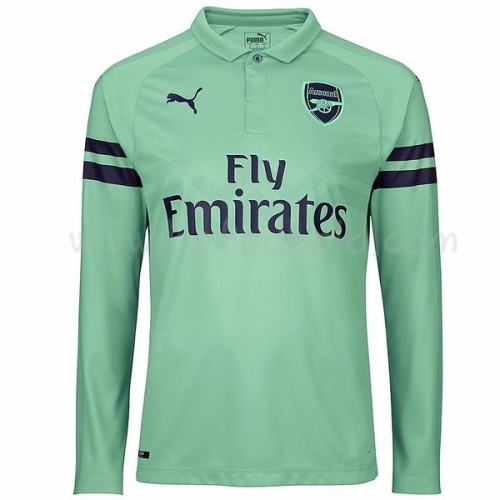 Arsenal 2018-19 Long Sleeve Third Soccer Jersey