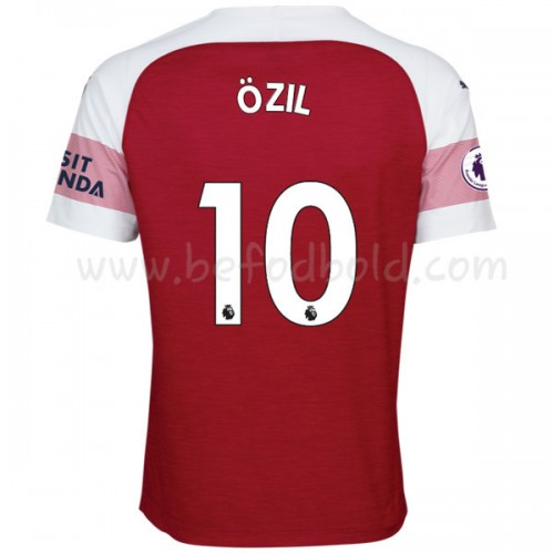 Arsenal 2018-19 Mesut Ozil 10 Short Sleeve Home Soccer Jersey
