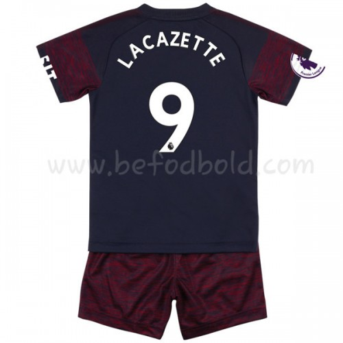Arsenal Kids 2018-19 Alexandre Lacazette 9 Short Sleeve Away Soccer Jersey