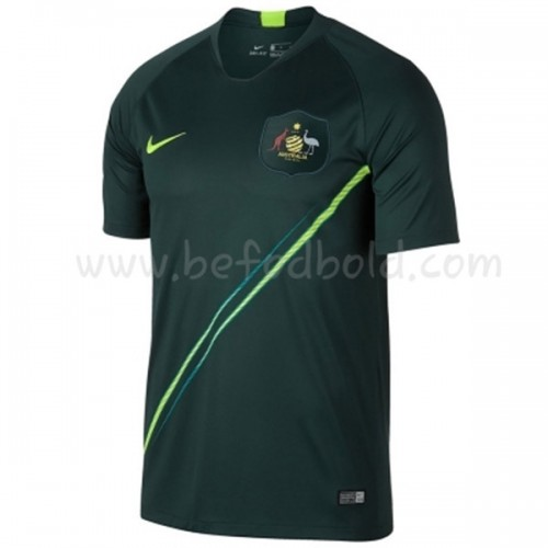 Australia 2018 Short Sleeve Away  Soccer Jersey