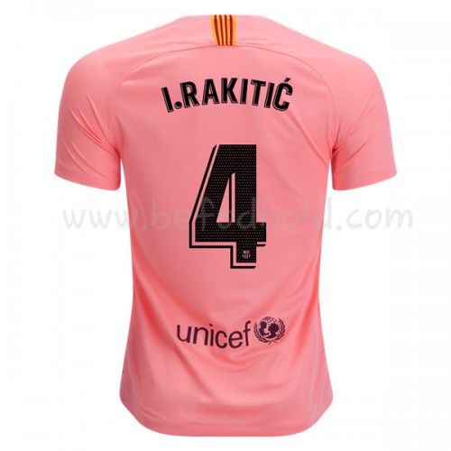 Barcelona 2018-19 I. Rakitic 4 Short Sleeve Third Soccer Jersey