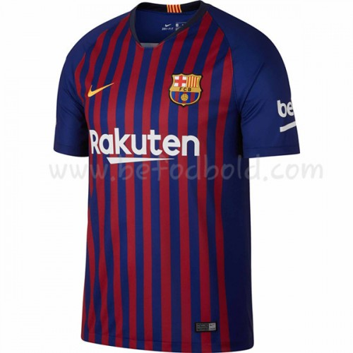 Barcelona 2018-19 Short Sleeve Home Soccer Jersey