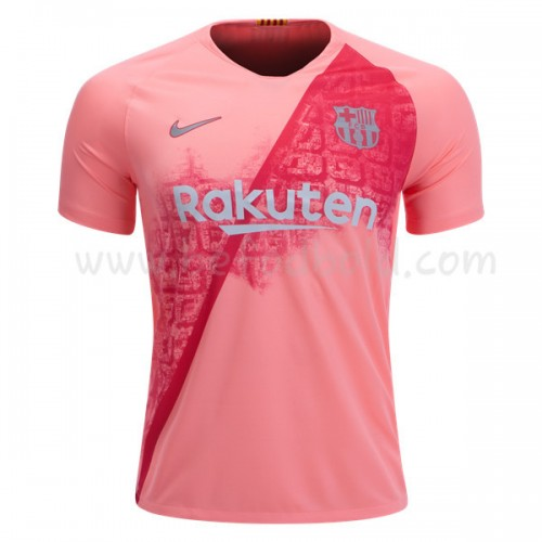 Barcelona 2018-19 Short Sleeve Third Soccer Jersey
