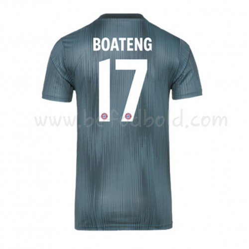 Bayern Munich 2018-19 Jerome Boateng 17 Short Sleeve Third Soccer Jersey