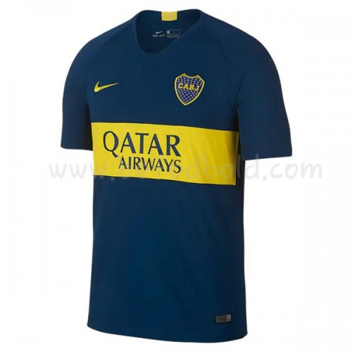 Boca Juniors 2018-19 Short Sleeve Home Soccer Jersey