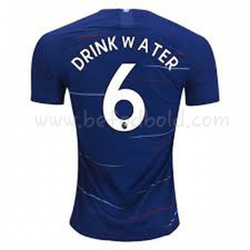 Chelsea 2018-19 Danny Drinkwater 6 Short Sleeve Home Soccer Jersey