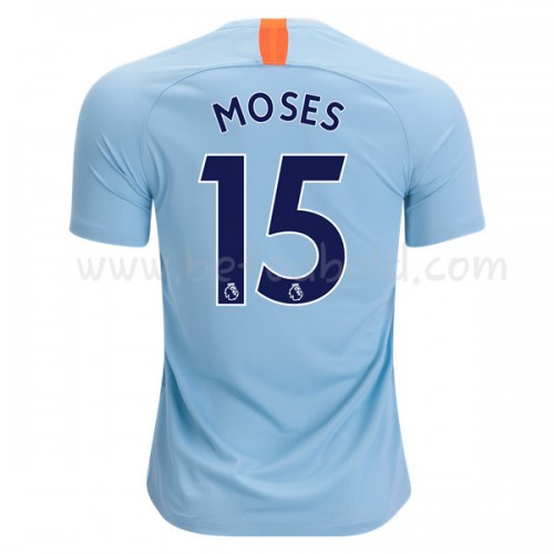 Chelsea 2018-19 Victor Moses 15 Short Sleeve Third Soccer Jersey
