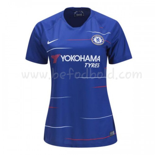 Chelsea Womens 2018-19 Short Sleeve Home Soccer Jersey