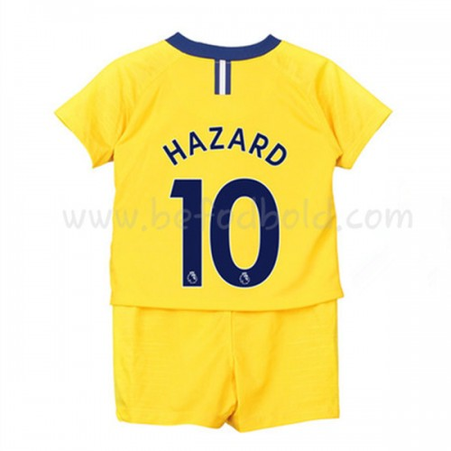 Chelsea Kids 2018-19 Eden Hazard 10 Short Sleeve Away Soccer Jersey
