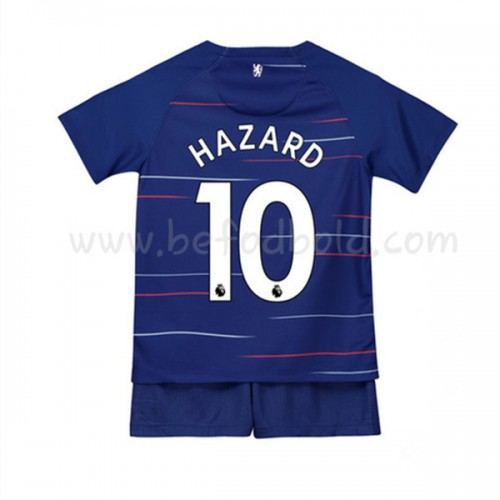Chelsea Kids 2018-19 Eden Hazard 10 Short Sleeve Home Soccer Jersey