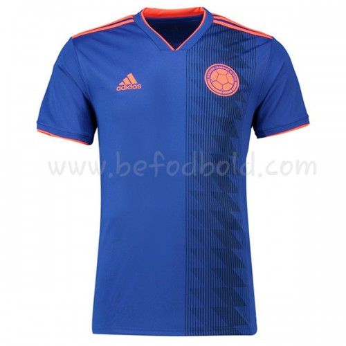 Colombia 2018 Short Sleeve Away Soccer Jersey