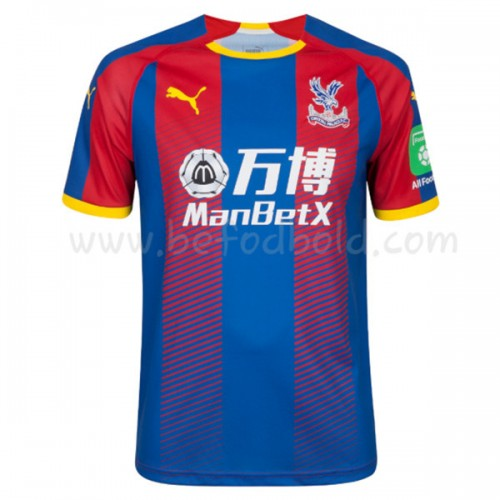 Crystal Palace 2018-19 Short Sleeve Home Soccer Jersey