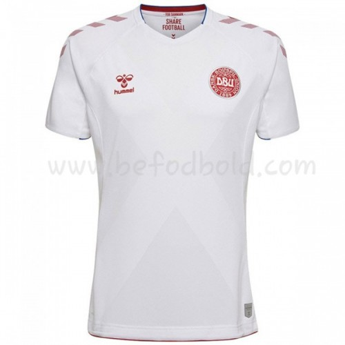 Denmark 2018 Short Sleeve Away Soccer Jersey