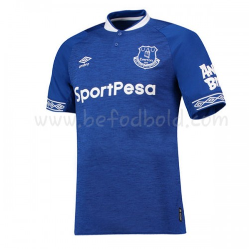 Everton 2018-19 Short Sleeve Home Soccer Jersey