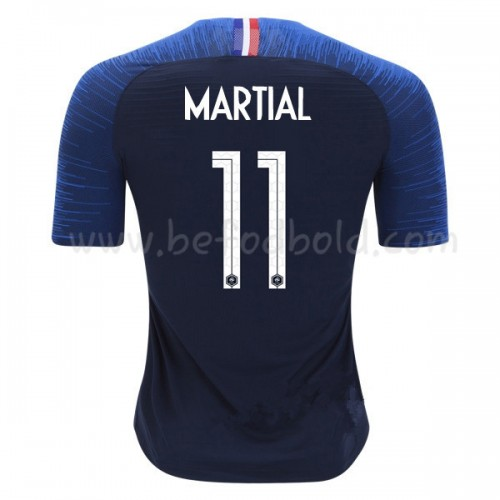 France 2018 Anthony Martial 11 Short Sleeve Home Soccer Jersey