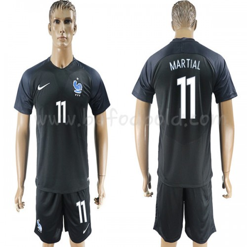 France 2018 Anthony Martial 11 Short Sleeve Third Soccer Jersey