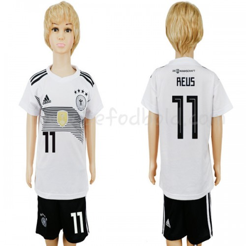 Germany Kids 2018 World Cup Marco Reus 11 Short Sleeve Home Soccer Jersey