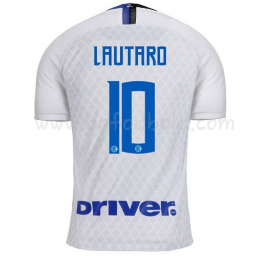 Inter Milan 2018-19 Lautaro Martinez 10 Short Sleeve Away Soccer Jersey