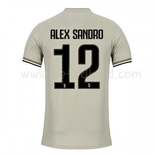 Juventus 2018-19 Alex Sandro 12 Short Sleeve Away Soccer Jersey