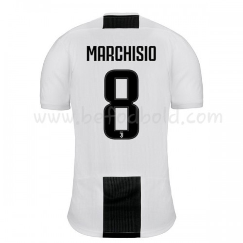 Juventus 2018-19 Claudio Marchisio 8 Short Sleeve Home Soccer Jersey