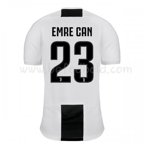 Juventus 2018-19 Emre Can 23 Short Sleeve Home Soccer Jersey