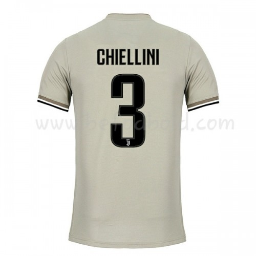 Juventus 2018-19 Giorgio Chiellini 3 Short Sleeve Away Soccer Jersey
