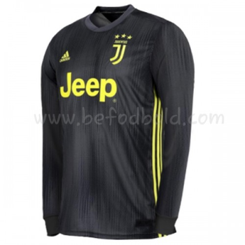 Juventus 2018-19 Long Sleeve Third Soccer Jersey
