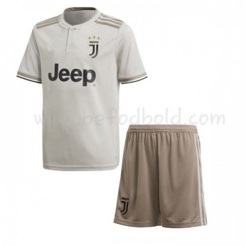 Juventus Kids 2018-19 Short Sleeve Away Soccer Jersey