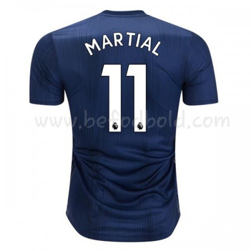 Manchester United 2018-19 Anthony Martial 11 Short Sleeve Third Soccer Jersey