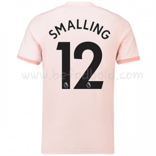 Manchester United 2018-19 Chris Smalling 12 Short Sleeve Away Soccer Jersey