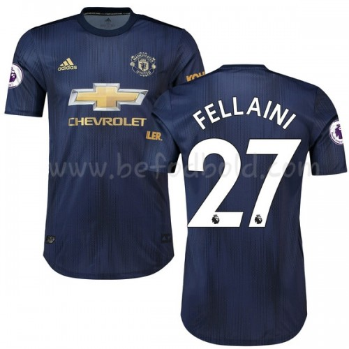 Manchester United 2018-19 Marouane Fellaini 27 Short Sleeve Third Soccer Jersey