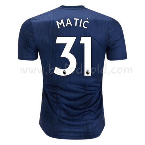 Manchester United 2018-19 Nemanja Matic 31 Short Sleeve Third Soccer Jersey
