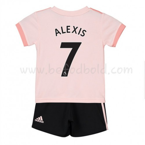 Manchester United Kids 2018-19 Alexis Sanchez 7 Short Sleeve Away Soccer Jersey