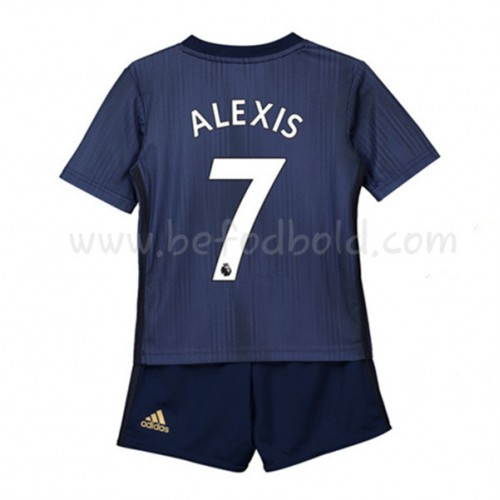 Manchester United Kids 2018-19 Alexis Sanchez 7 Short Sleeve Third Soccer Jersey
