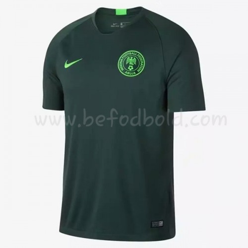 Nigeria 2018 Short Sleeve Away Soccer Jersey