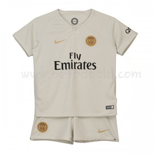 Paris Saint Germain PSG Kids 2018-19 Short Sleeve Away Soccer Jersey