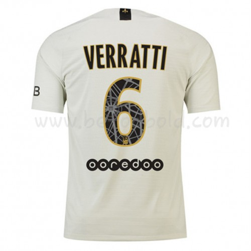 Paris Saint Germain Psg 2018-19 Marco Verratti 6 Short Sleeve Away Soccer Jersey