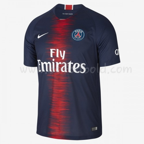Paris Saint Germain Psg 2018-19 Short Sleeve Home Soccer Jersey