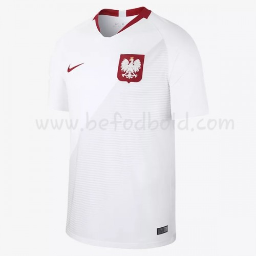 Poland 2018 Short Sleeve Home Soccer Jersey