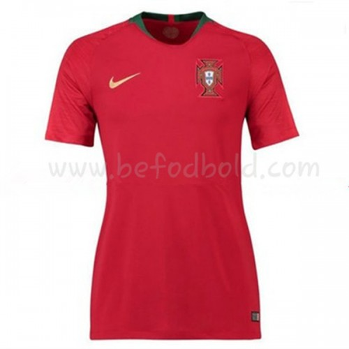 Portugal Womens 2018 World Cup Short Sleeve Home Soccer Jersey
