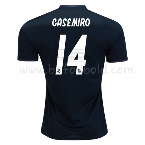 Real Madrid 2018-19 Carlos Casemiro 14 Short Sleeve Away Soccer Jersey