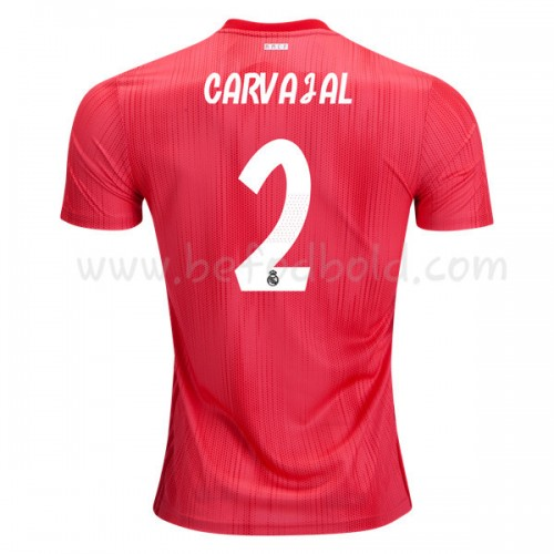 Real Madrid 2018-19 Dani Carvajal 2 Short Sleeve Third Soccer Jersey