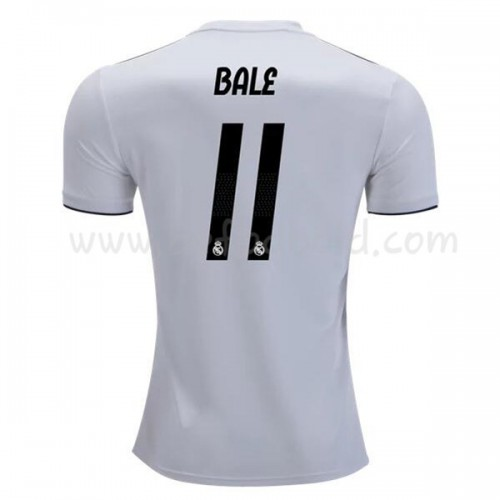 Real Madrid 2018-19 Gareth Bale 11 Short Sleeve Home Soccer Jersey