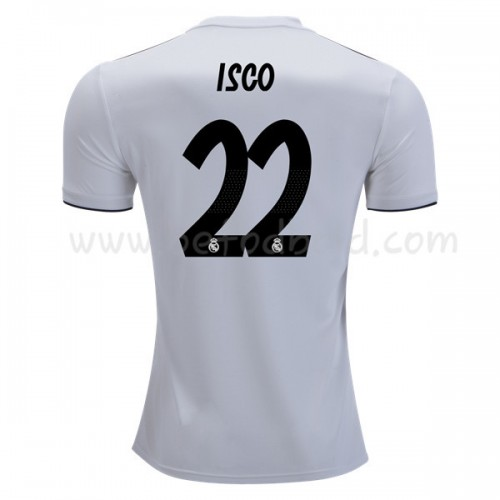 Real Madrid 2018-19 Isco Suarez 22 Short Sleeve Home Soccer Jersey