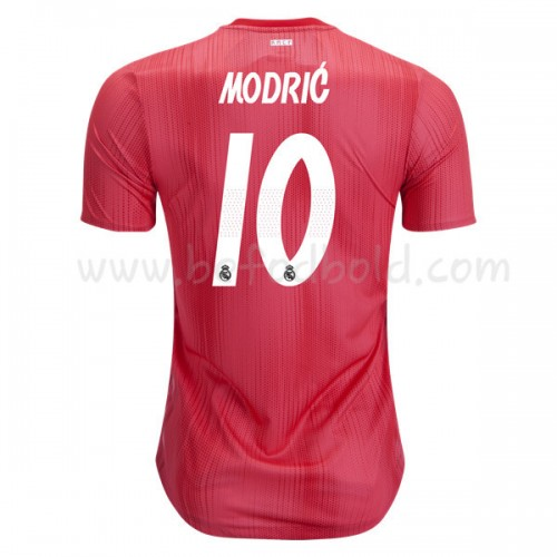 Real Madrid 2018-19 Modric 10 Short Sleeve Third Soccer Jersey