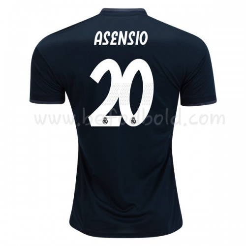 Real Madrid 2018-19 Marco Asensio 20 Short Sleeve Away Soccer Jersey