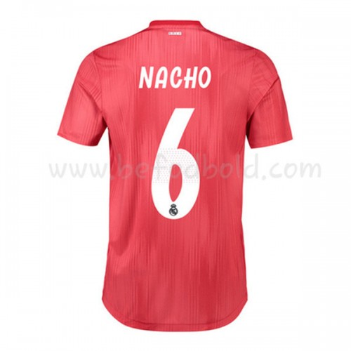 Real Madrid 2018-19 Nacho Fernandez 6 Short Sleeve Third Soccer Jersey