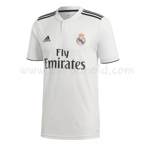 Real Madrid 2018-19 Short Sleeve Home Soccer Jersey