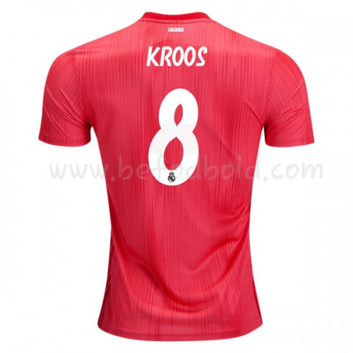 Real Madrid 2018-19 Toni Kroos 8 Short Sleeve Third Soccer Jersey