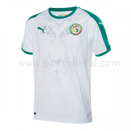 Senegal 2018 Short Sleeve Home Soccer Jersey